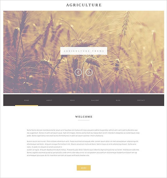 responsive cultivation wordpress template
