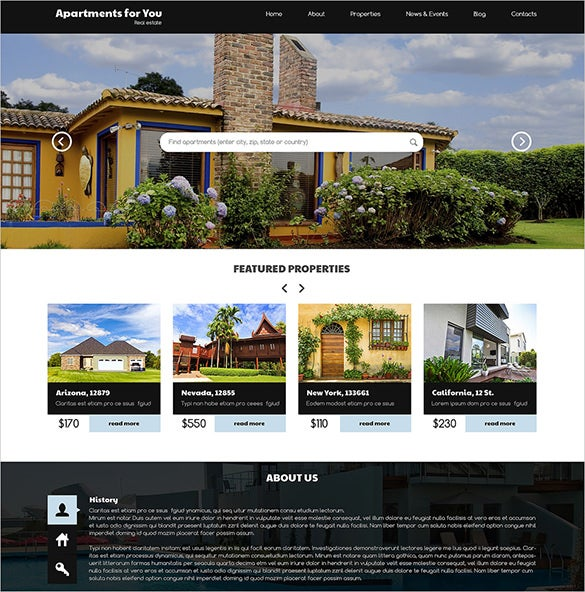 rent buy property wordpress theme