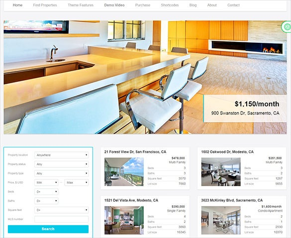 best wordpress theme for realty