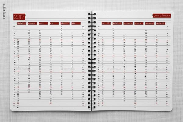 Daily Calendar Format  Printable Editable Blank