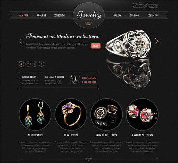 best responsive jewelry wordpress theme