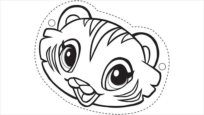 moreover  in addition Coloring Sheet Of Cartoon Outline Frog For Kids additionally Animal Mask Template besides Showthread. on scary cartoon leopard