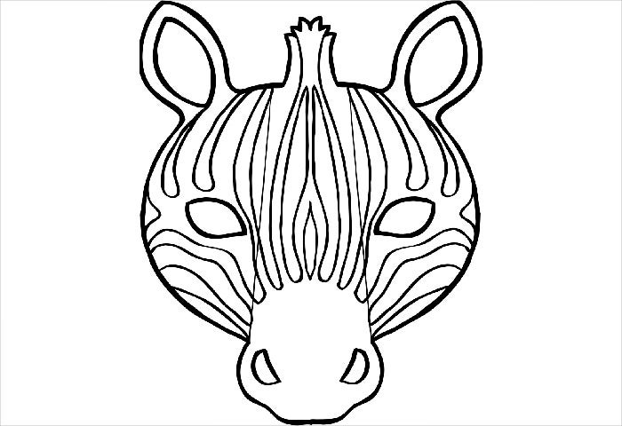 Free printable templates animal masks mardi gras mask craft and free printable templates animal masks zebra mask template animal mask template templates free pronofoot35fo Choice Image