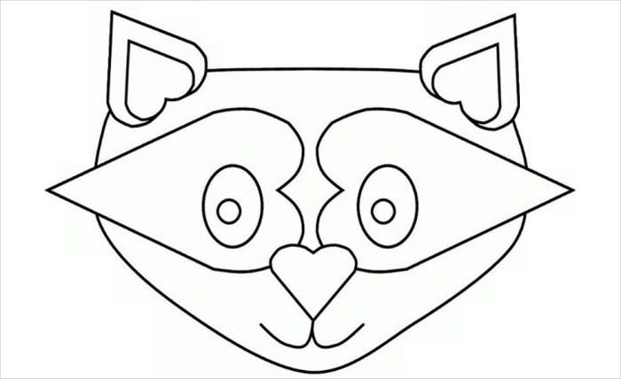 Template For Penguin Mask Printable Pdf