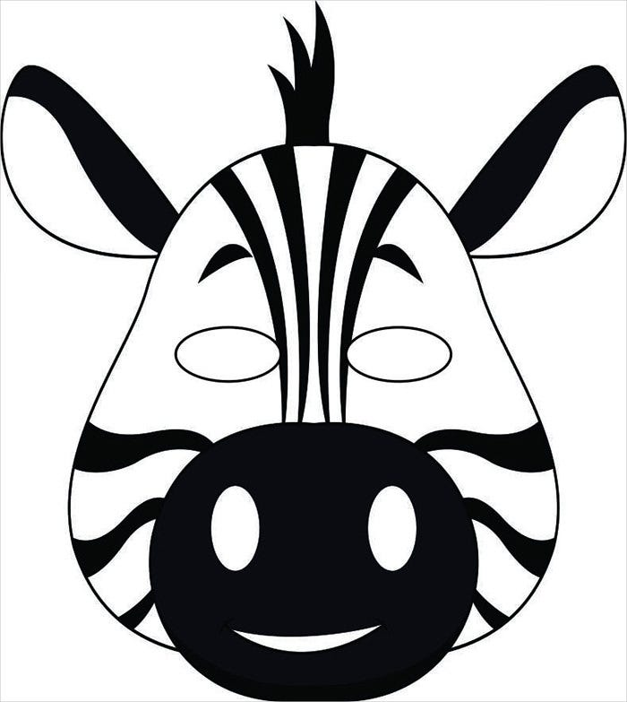 Animal Mask Template Animal Templates – Mask Templates for Adults