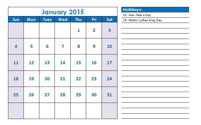 40 Sample 2015 Calendar Templates Designs Free Free Premium