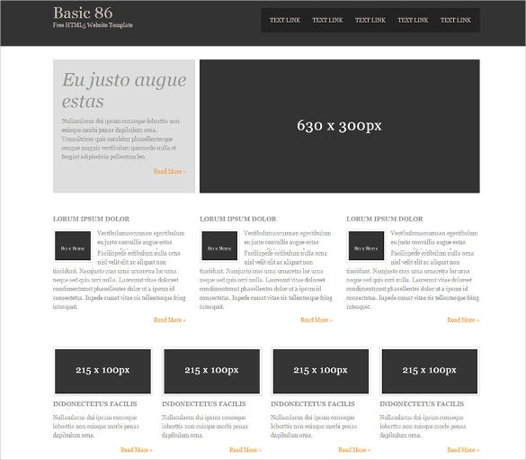 31 free html5 website themes templates free premium templates. Black Bedroom Furniture Sets. Home Design Ideas