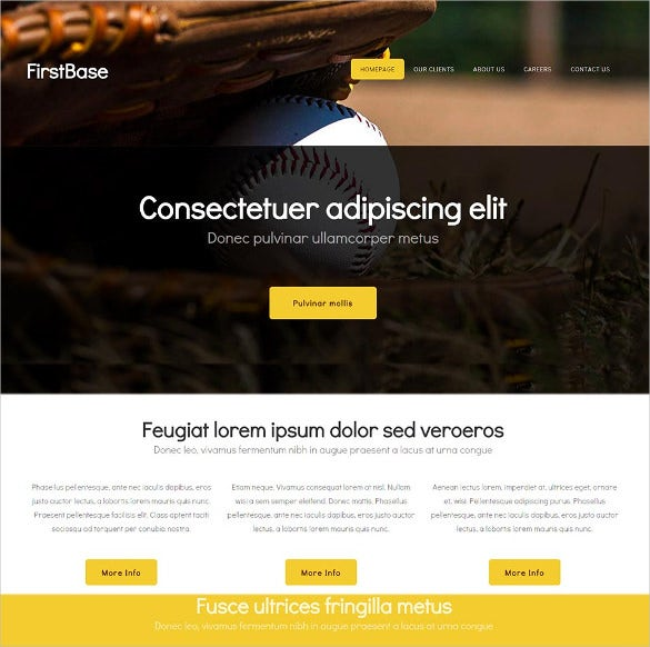 basic website html5 theme