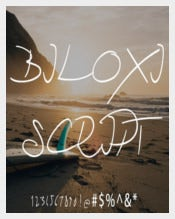 Biloxi Script Handwritten Font