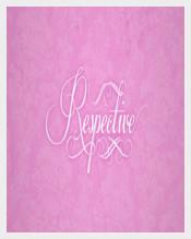 Wedding Script Respective Font