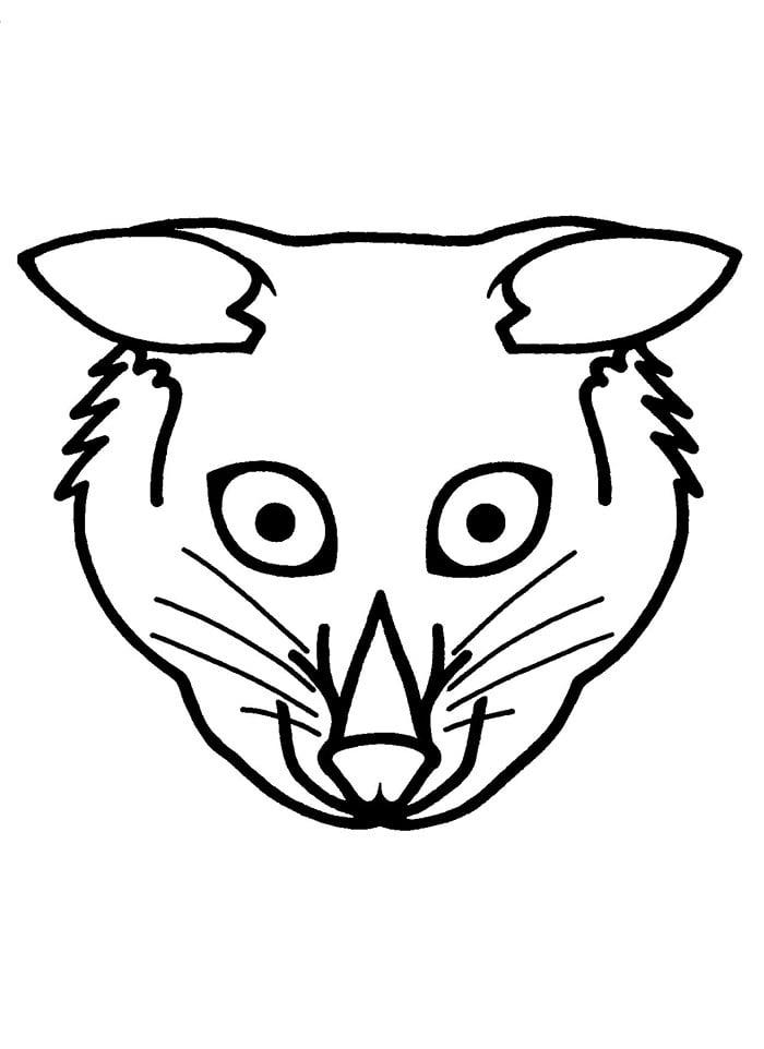 animal mask template animal templates free premium templates