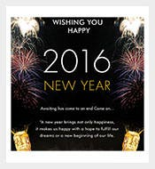 2016-Year-Greeting-Card-Simple-&-Elegant