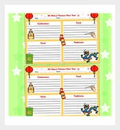 chinese new year writing template download resolutions