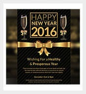 Dark-New-Year-Party-Night-Invitation-Card