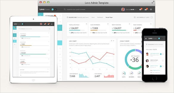 html5 bootstrap admin template
