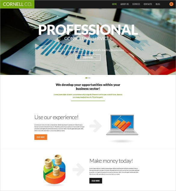 51 business bootstrap themes templates free premium templates professional business responsive bootstrap website template free demo wajeb Gallery