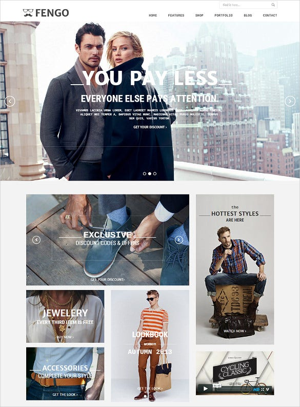 best premium ecommerce html5 template