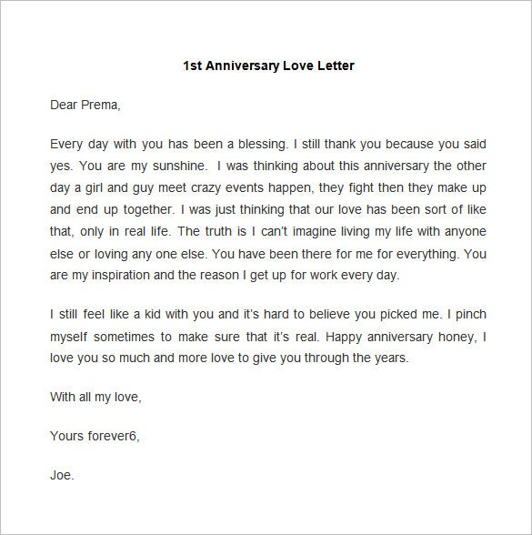 65+ Love Letter Templates – Free Sample, Example Format Download ...