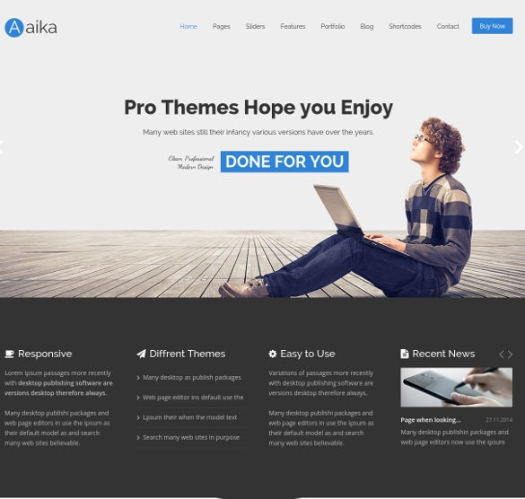 Fully Responsive Multipurpose Html5 Template