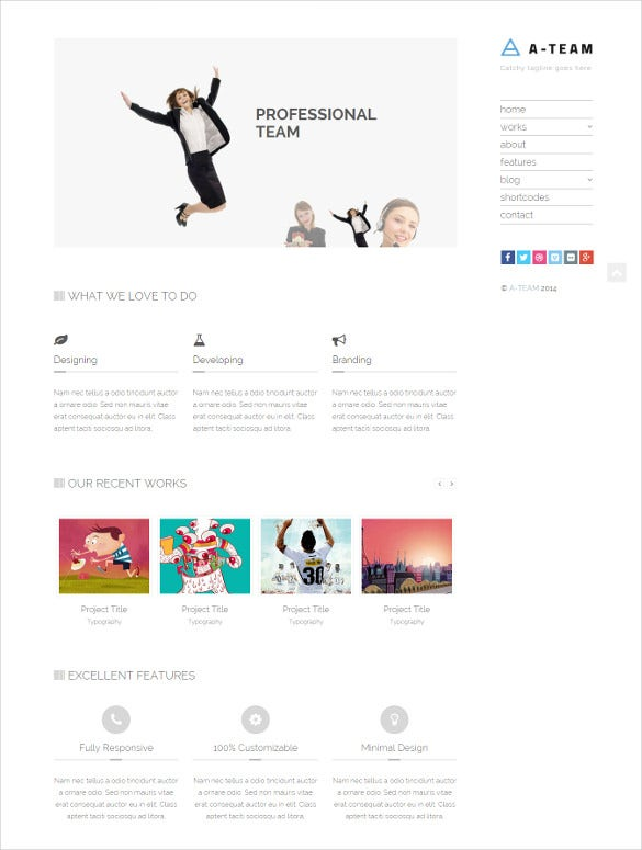Html 5 Blog Website Templates & Themes | Free & Premium | Free ...