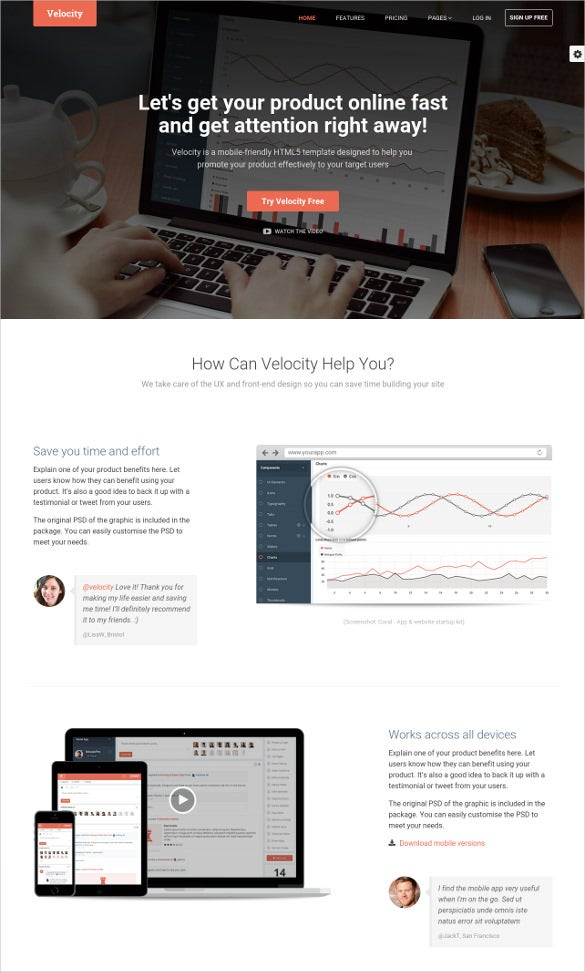bootstrap 3 application template