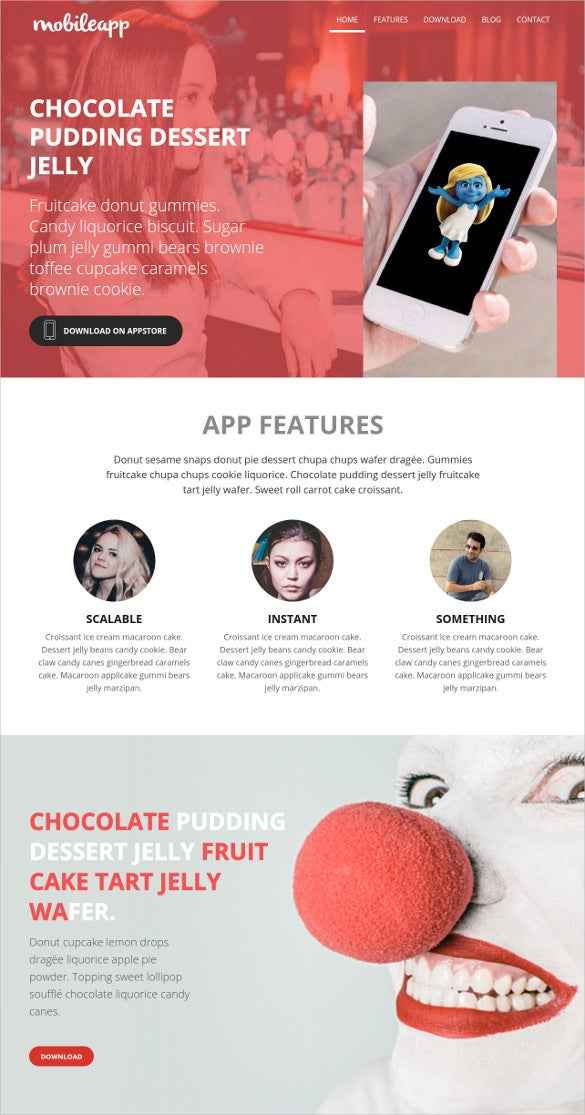 web application bootstrap template free1