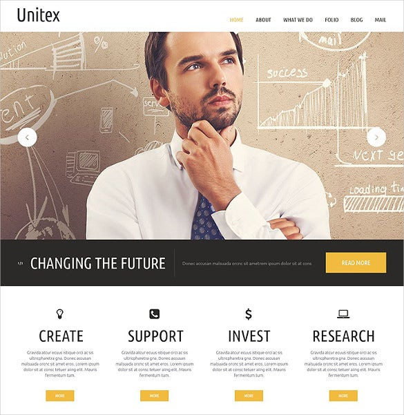 41 business html5 themes templates free premium templates business website templates friedricerecipe Gallery