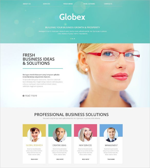 Website Templates Html5 | Business Responsive Website Template