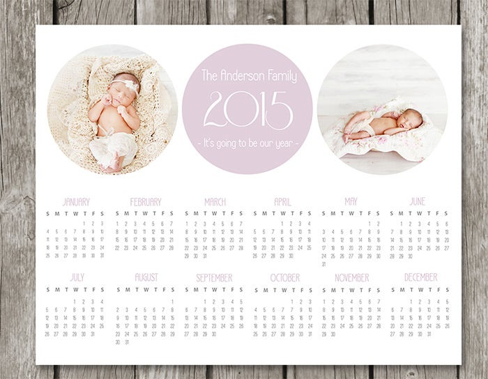 Best Adobe Poshop Calendar Template Images Gallery Amazing