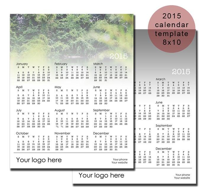 2015 calendar template2