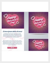 Valentines Day Email Template1