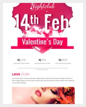 Valentines Day Email Template2