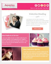 Valentines Day Email Template3