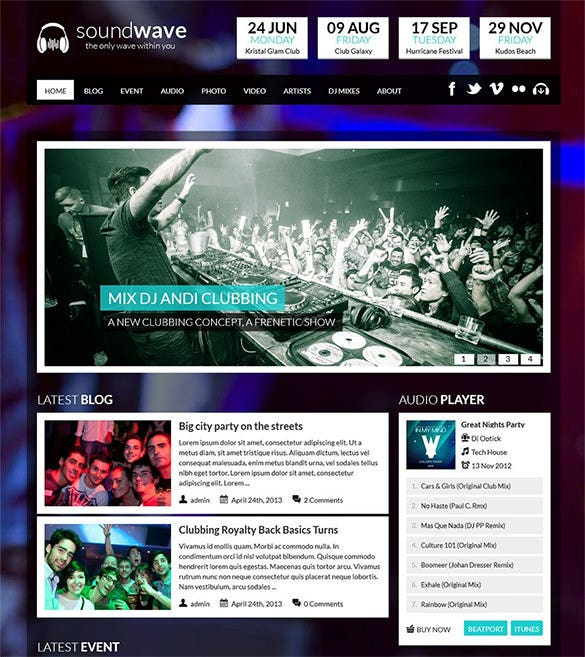 30  radio station wordpress themes  u0026 templates