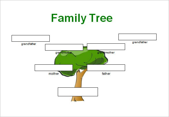 3 generations family genogram template word download
