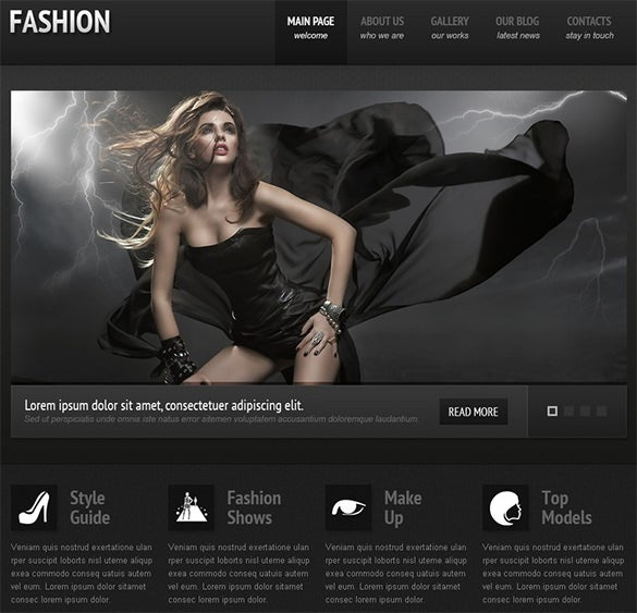 fully responsive joomla fashion theme