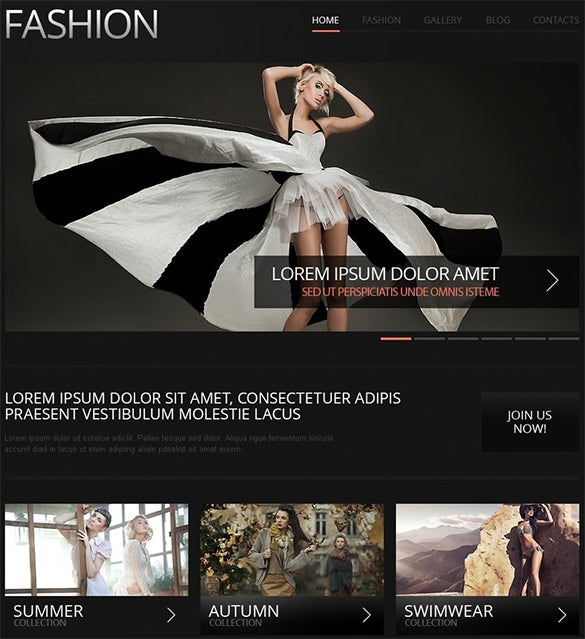 joomla fashion template1