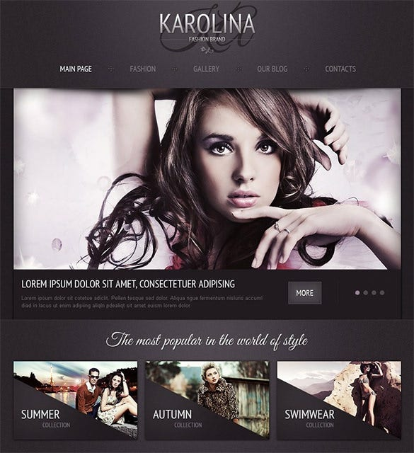fashion joomla theme