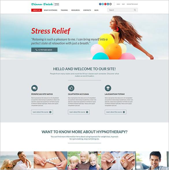 health joomla website template