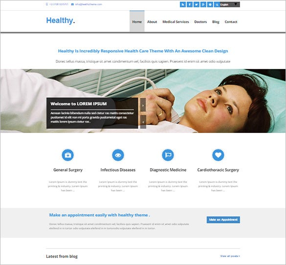 medical joomla 3x template