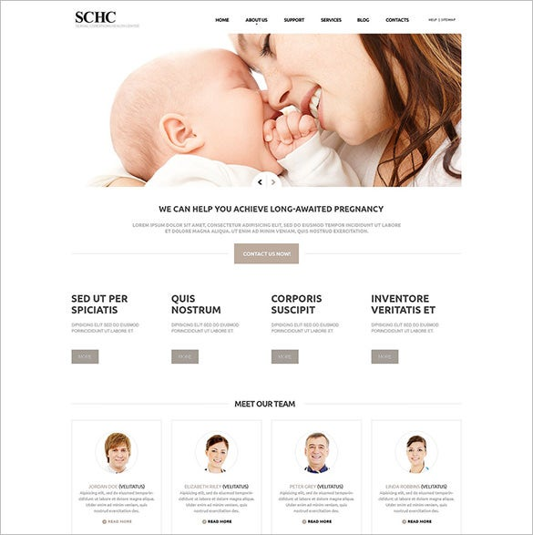 responsive medical joomla template download