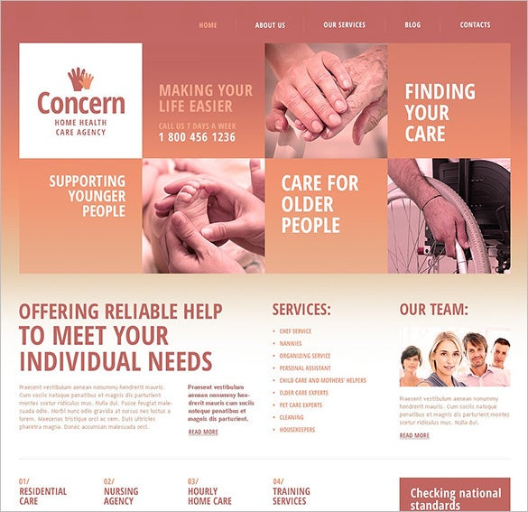 best medical joomla template