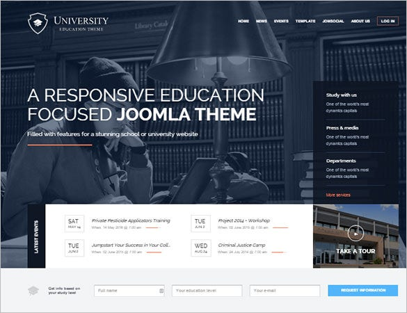 joomla education template2