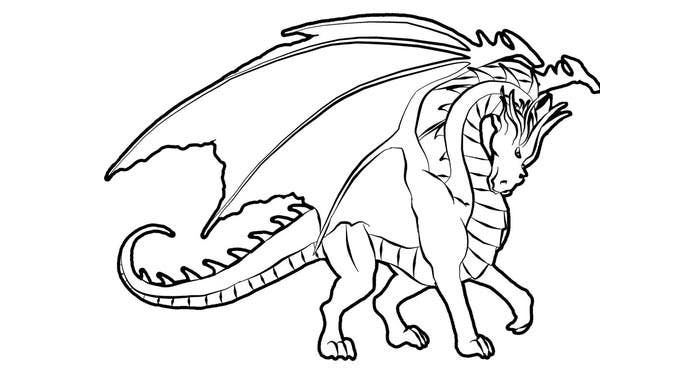 50 Best Dragon Templates Crafts amp Coloring Pages
