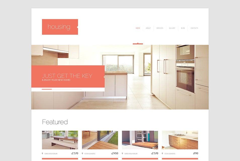 Renting Agency WordPress Theme