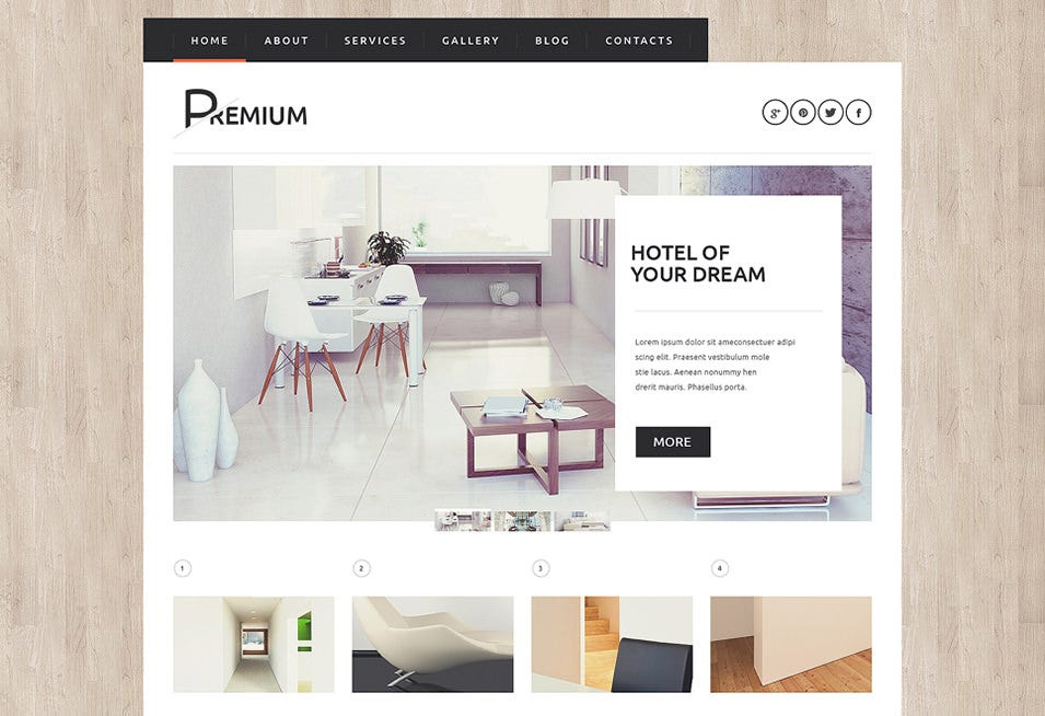 Hotels Booking Agency WordPress Theme