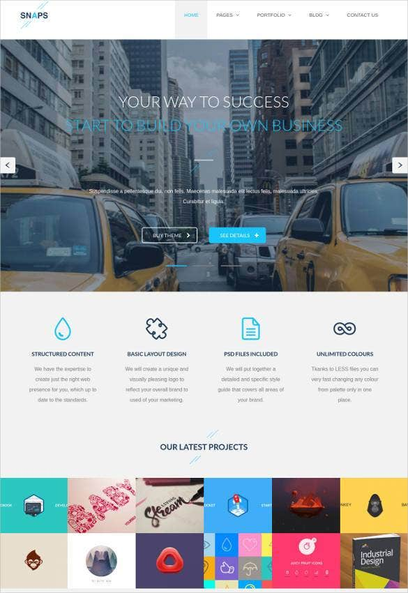 agency business html5 bootstrap template1