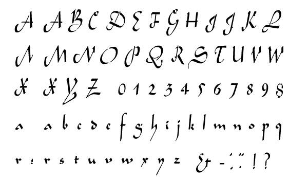aladdin alphabet stencil