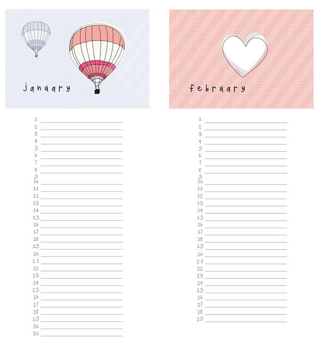 Birthday Calendar Template | Search Results | 2016 Calendar Printable