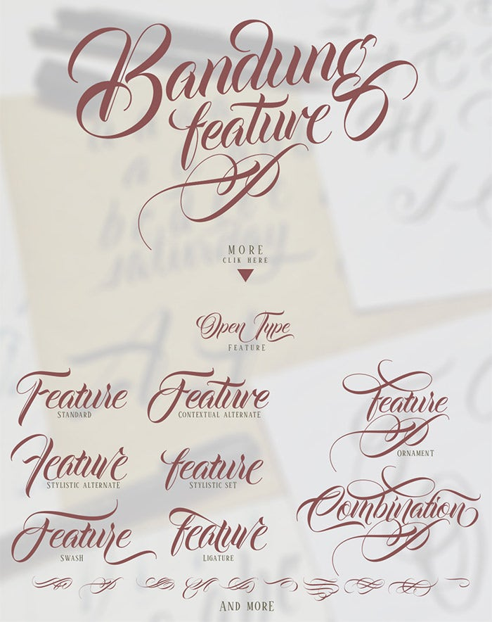 31  calligraphy fonts for tattoos